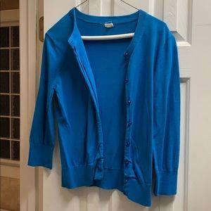 Aqua J.Crew cardigan-size medium